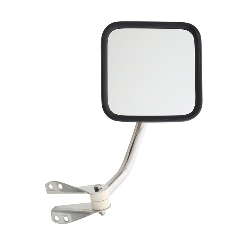 Side Mirrors - Stainless Steel