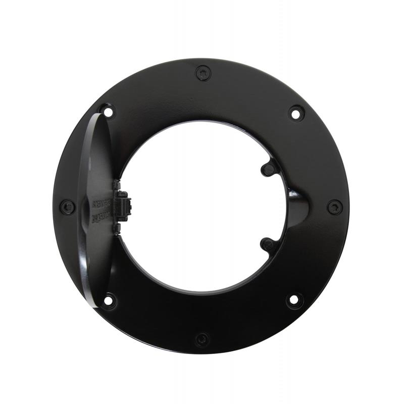 Gas Cover - Billet Style - Gloss Black