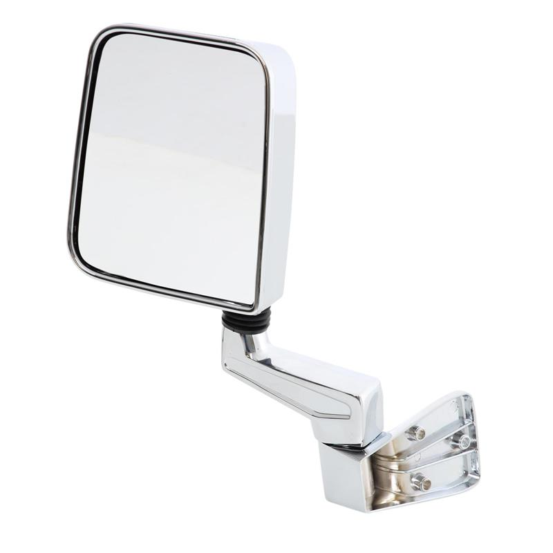 Half Door Side Mirrors - Chrome