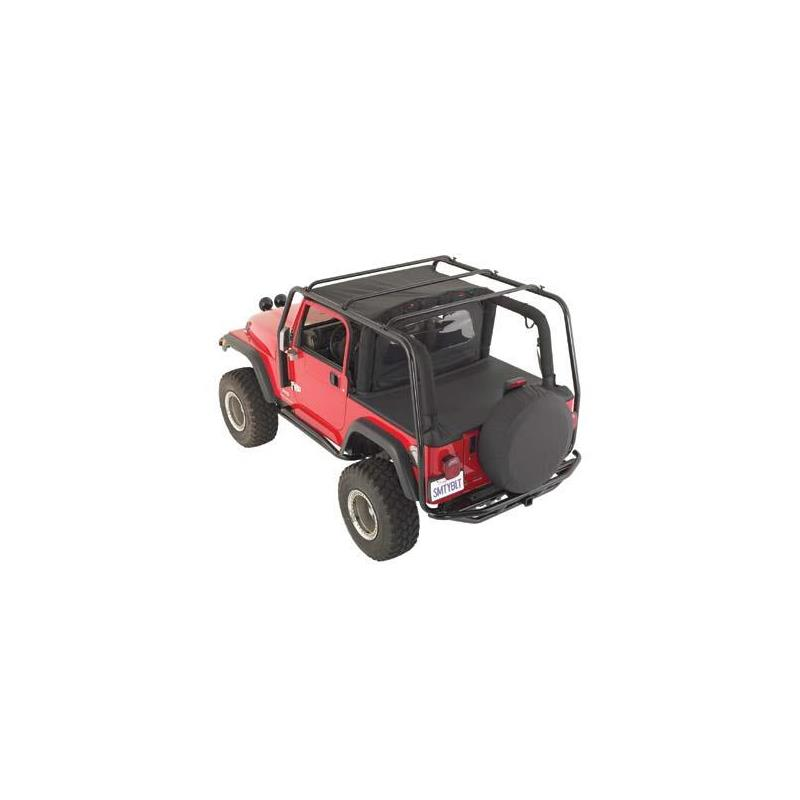 SRC Roof Rack - 300 Lb Rating - Black Textured