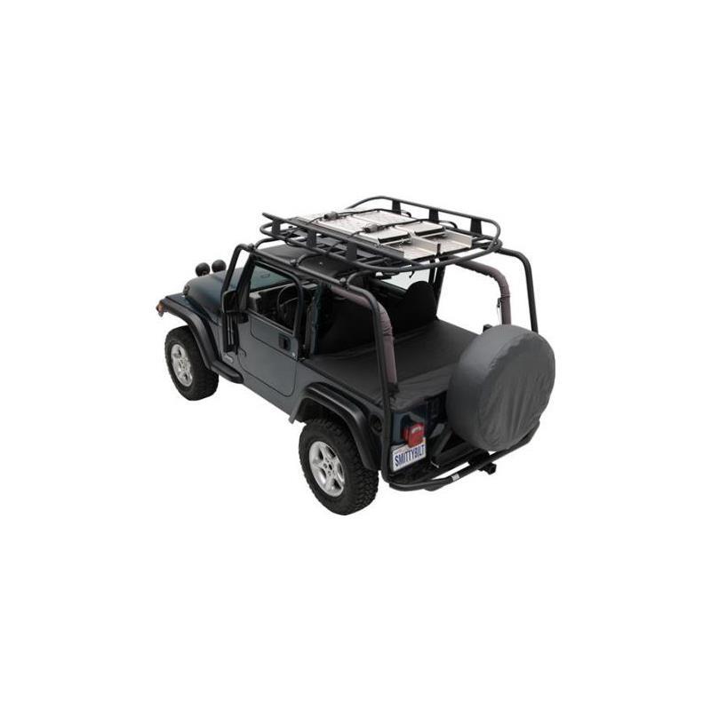SRC Roof Rack - 300 Lb Rating - Black Textured