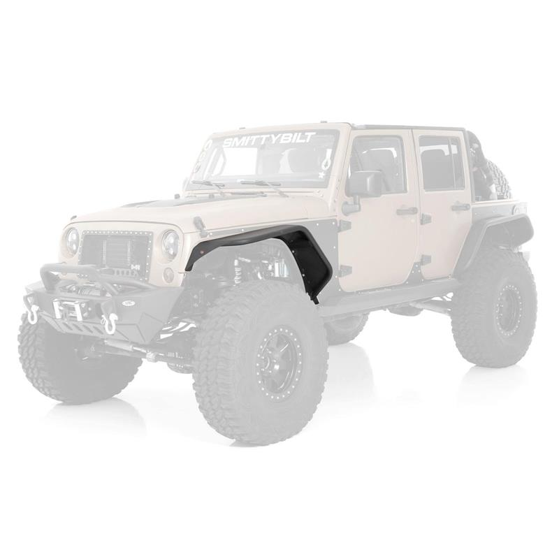 07 - 16 Jeep Wrangler JK 2 and 4 Door Flux Flare Front