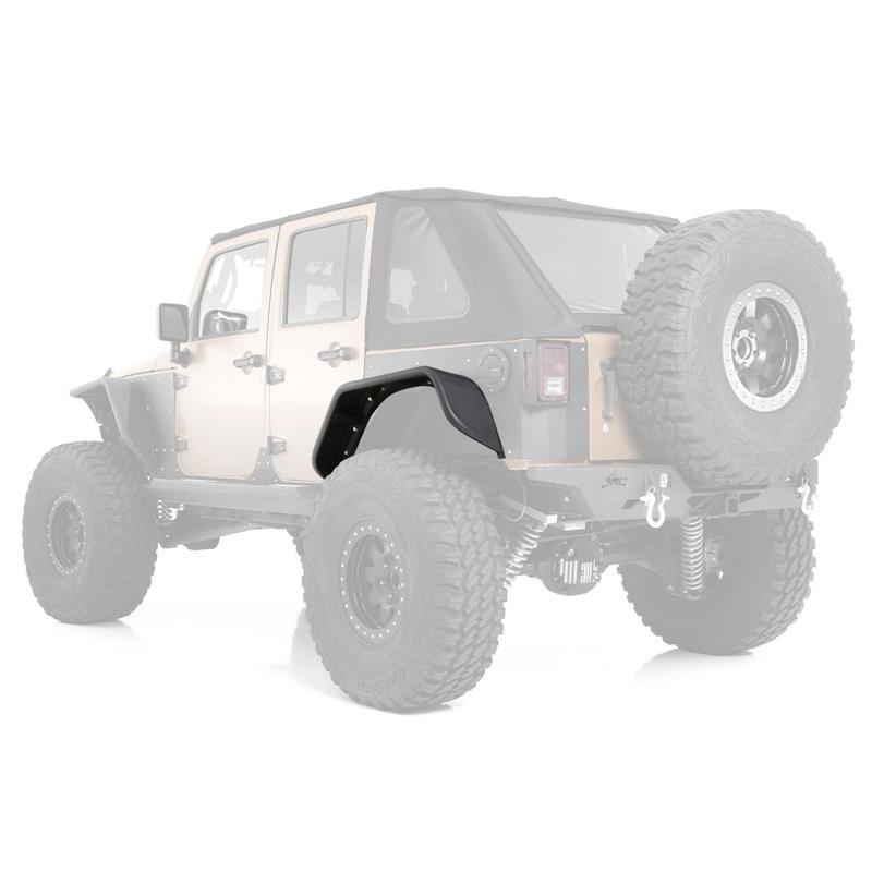 07 - 16 Jeep Wrangler JK 2 and 4 Door Flux Flare Rear