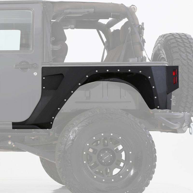 XRC Rear Corner Guards - Black Textured