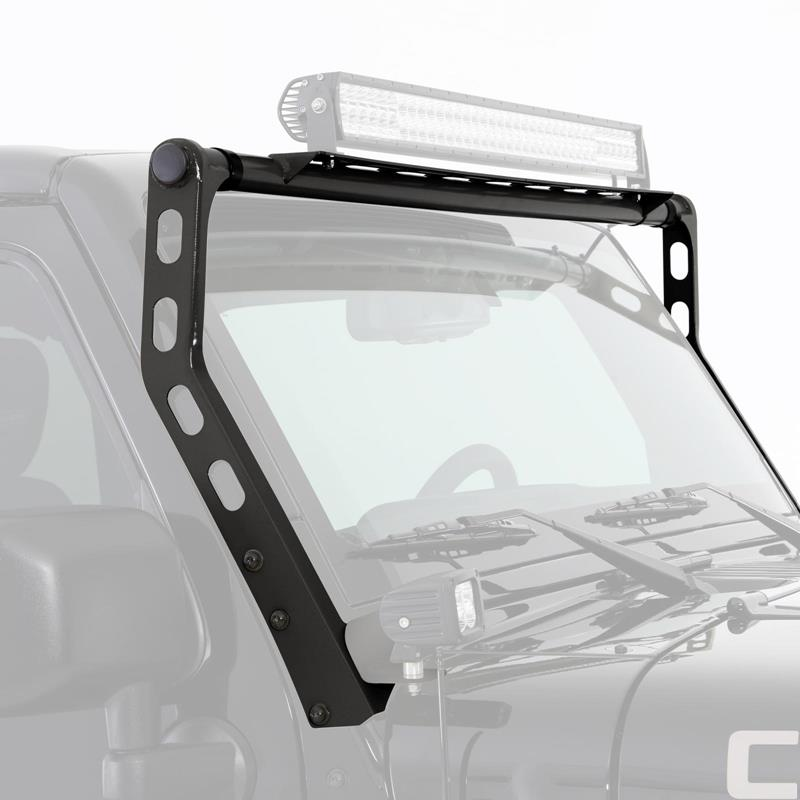 XRC Light Bar - Textured Black- Windshield Top