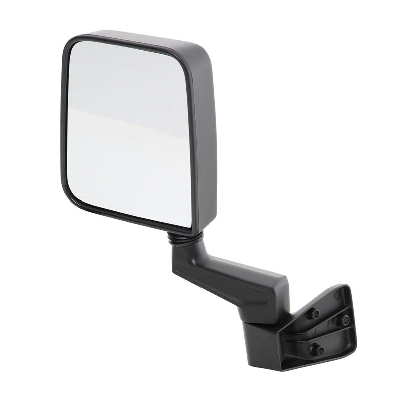 Half Door Side Mirrors - Black