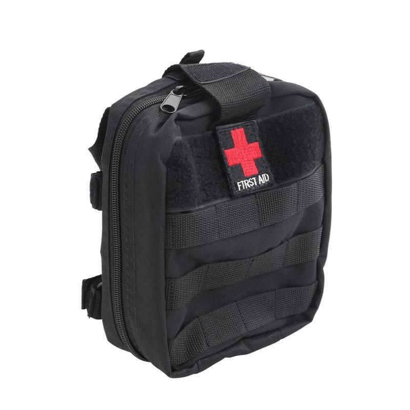 Roll Bar Mount - First Aid Storage Bag - Black