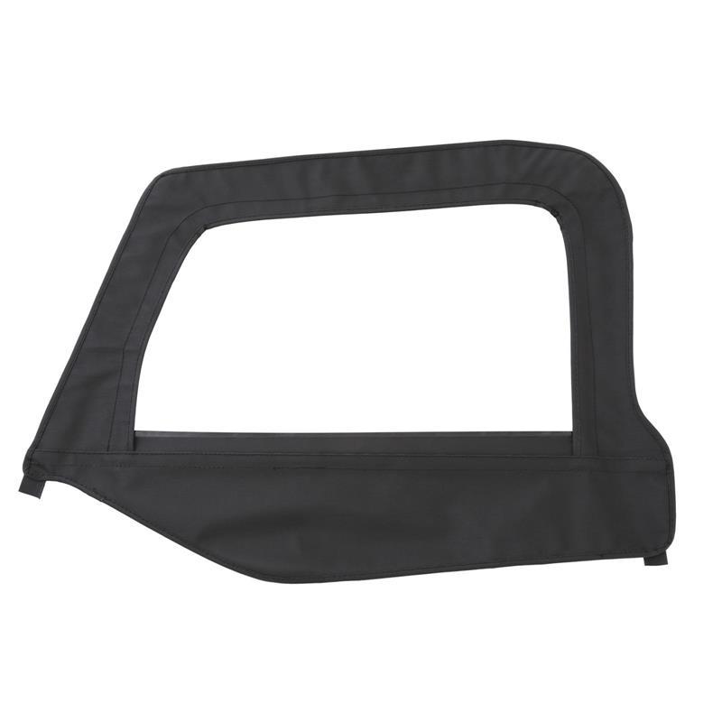 Soft Top - Door Skin W/ Frame - Driver Side - Denim Black