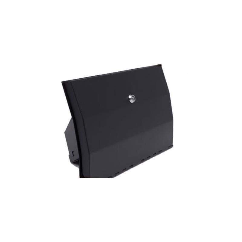 Vaulted Glove Box - Black