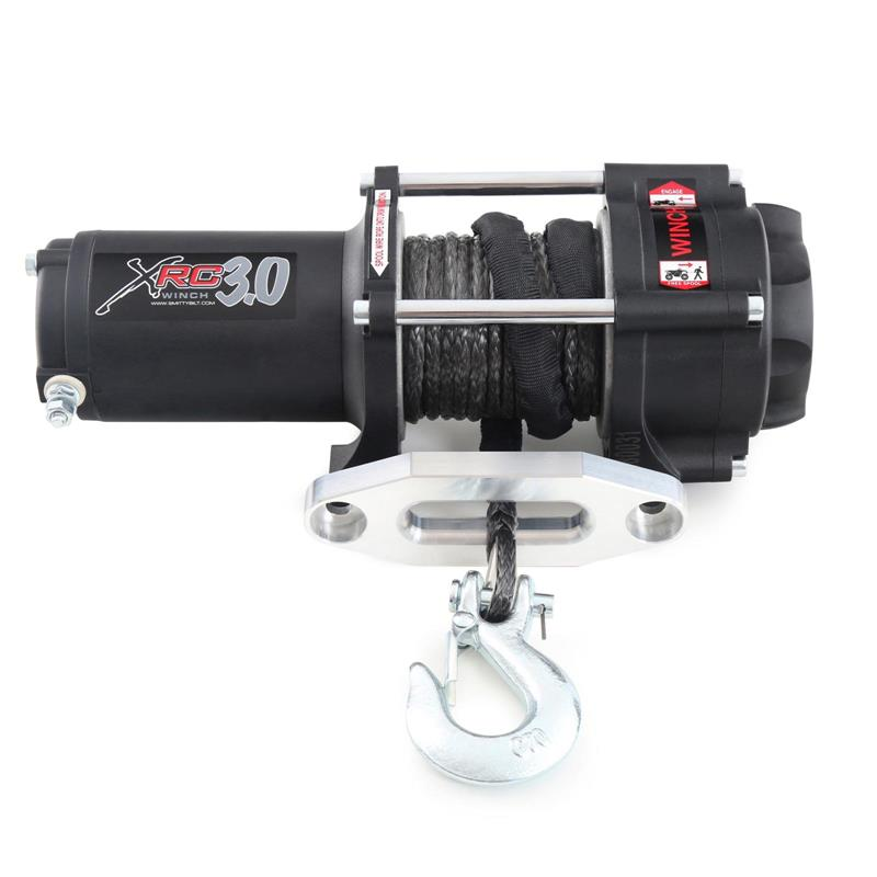 XRC 3 Comp - 3,000 Lb. Winch - Comp Series W/Synthetic Rope & Aluminum Fairlead