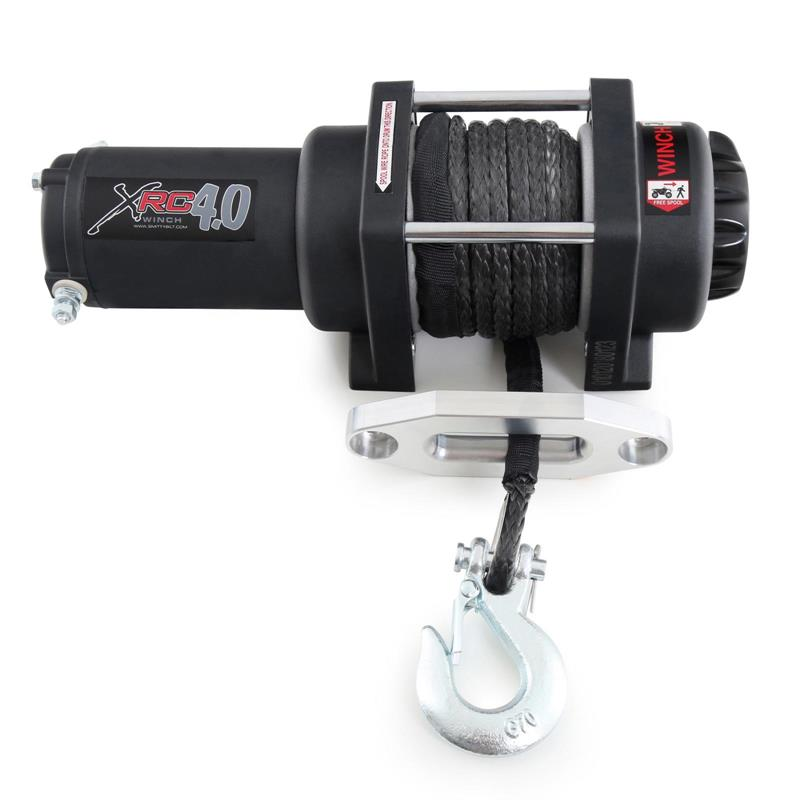 XRC 4 Comp - 4,000 Lb. Winch - Comp Series W/Synthetic Rope & Aluminum Fairlead
