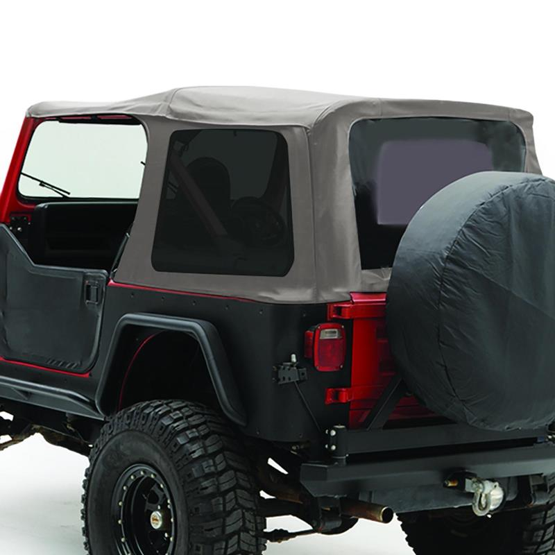 Soft Top - Oem Replacement W/Tinted Windows - Denim Gray