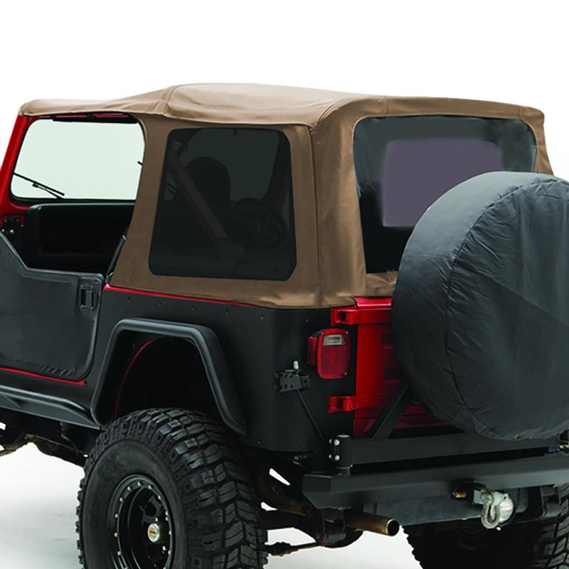 Soft Top - Oem Replacement W/Tinted Windows - Denim Spice