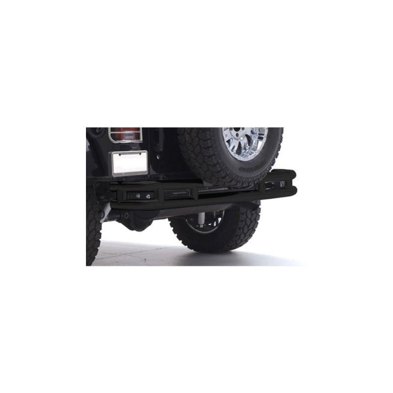 Tubular Bumper - Rear W/Hitch - Gloss Black