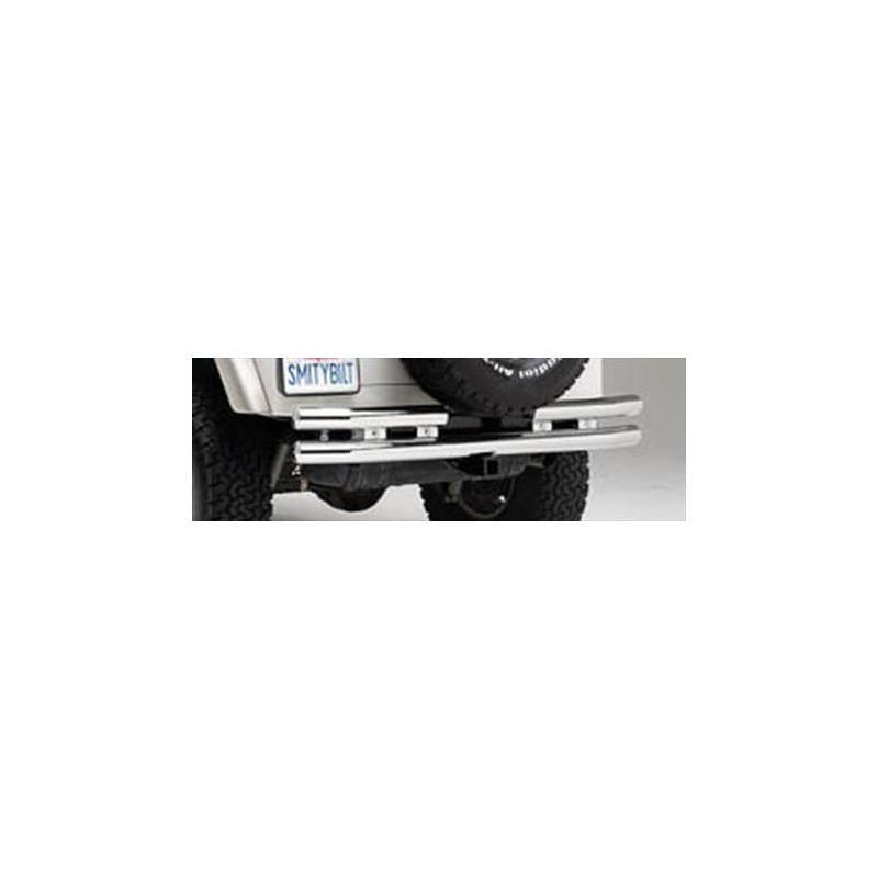 Tubular Bumper - Rear W/Hitch - Stainless Steel