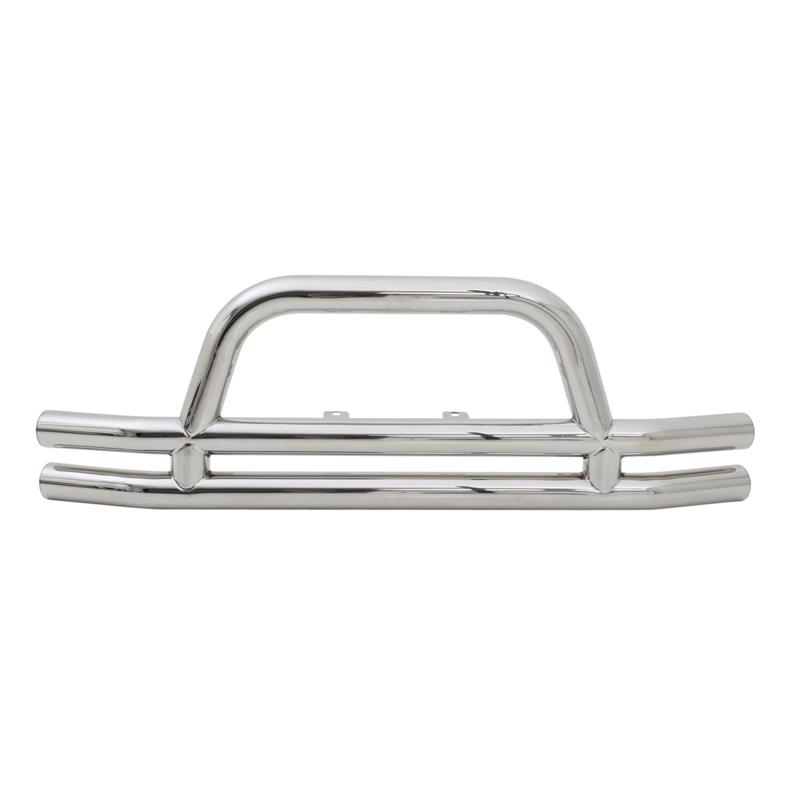 Tubular Bumper - Front - W/ Hoop - Stainless Steel