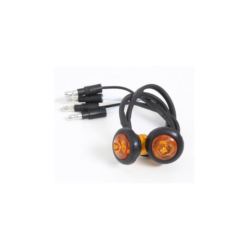LED Turn Signals for 76838 Flux Flares
