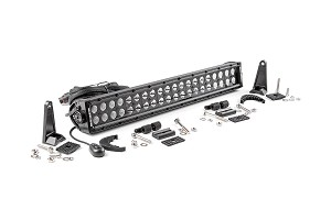 20-inch Black Series Dual Row CREE LED Light Bar<br>Fits: Anywhere You Can Mount It
