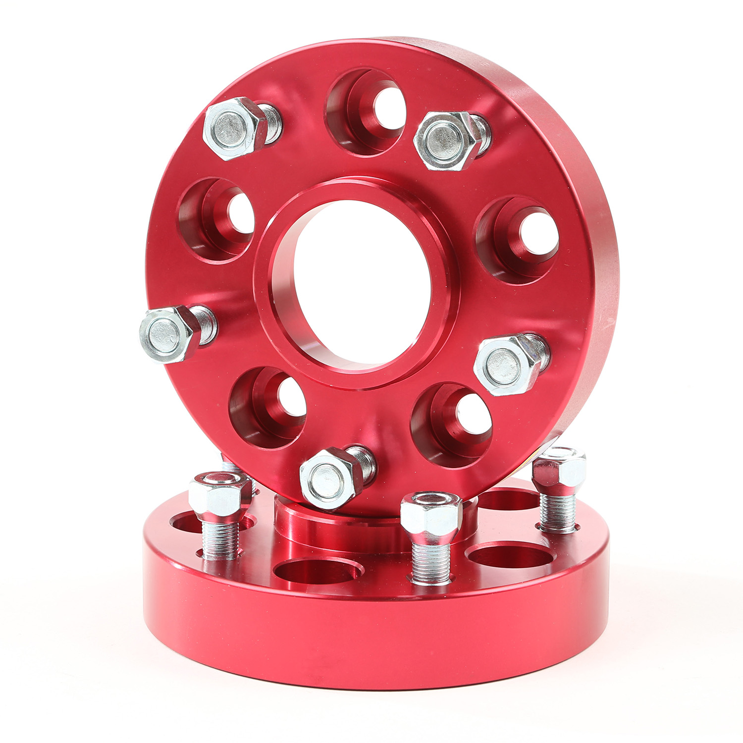 Wheel Adapters Red 5 x 5-Inch to 5 x 4.5-Inch Bolt Pattern x 11311