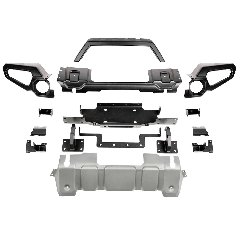 Venator Front Bumper Overrider Winch For Jeep 2018 To 2020 Wrangler JL 11549.41
