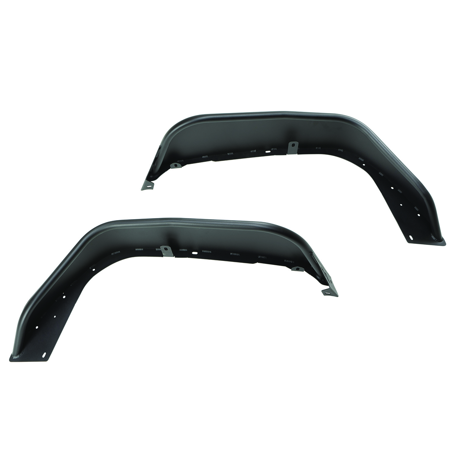 Steel Tube Fenders Front Pair Black For 2018 To 2020 Jeep Wrangler JL 11615.71