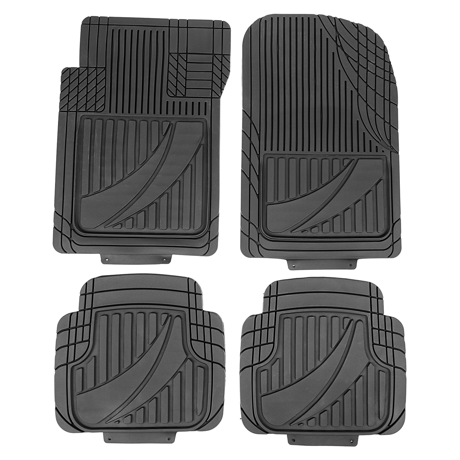 Universal Trim to Fit Floor Liners 4pc Set