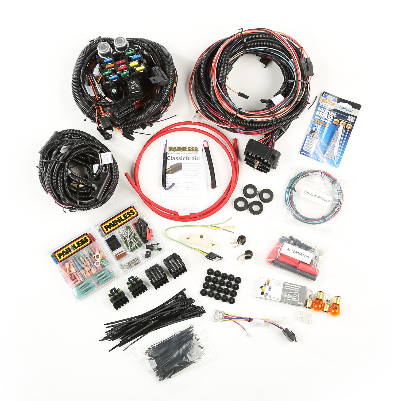 Painless Wiring Engine Wiring Harness 76-86 Jeep CJ5/CJ7/CJ8