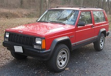 1984 to 2001 Jeep XJ Cherokee