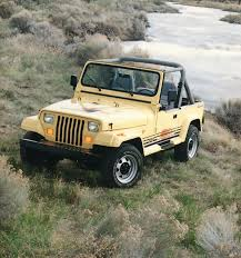 1987 to 1995 Jeep YJ Wrangler