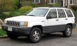 1993 to 1998 Jeep ZJ Grand Cherokee