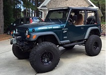 1997 to 2006 Jeep TJ Wrangler