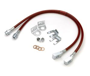 Brake Line Kit by JKS for Jeep 1987-95 YJ Wrangler Front two lines only