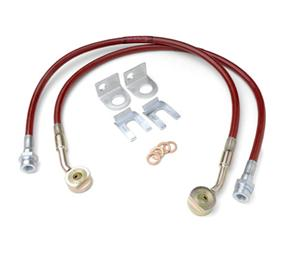 Brake Line Kit by JKS for Jeep 1997-06 TJ Wrangler, Rubicon and Unlimited