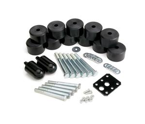 Body Lift System by JKS for Jeep 1997-06 TJ Wrangler Provides 1.25