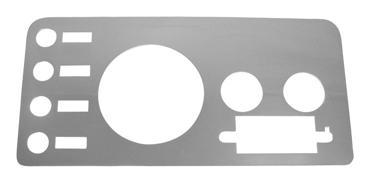 Crown Automotive-Dash Overlay-RT34027