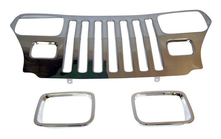 Crown Automotive-Grille Overlay Kit-RT34045