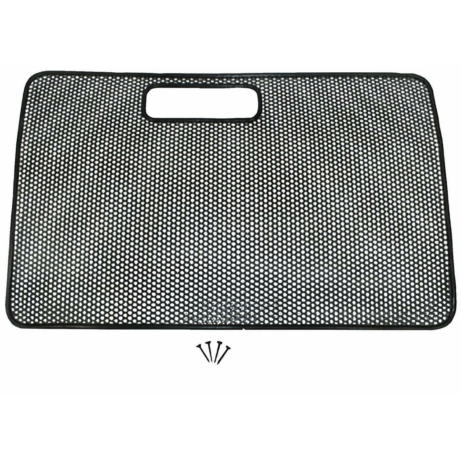 Grille Screen Black 97-06 Jeep Wrangler TJ