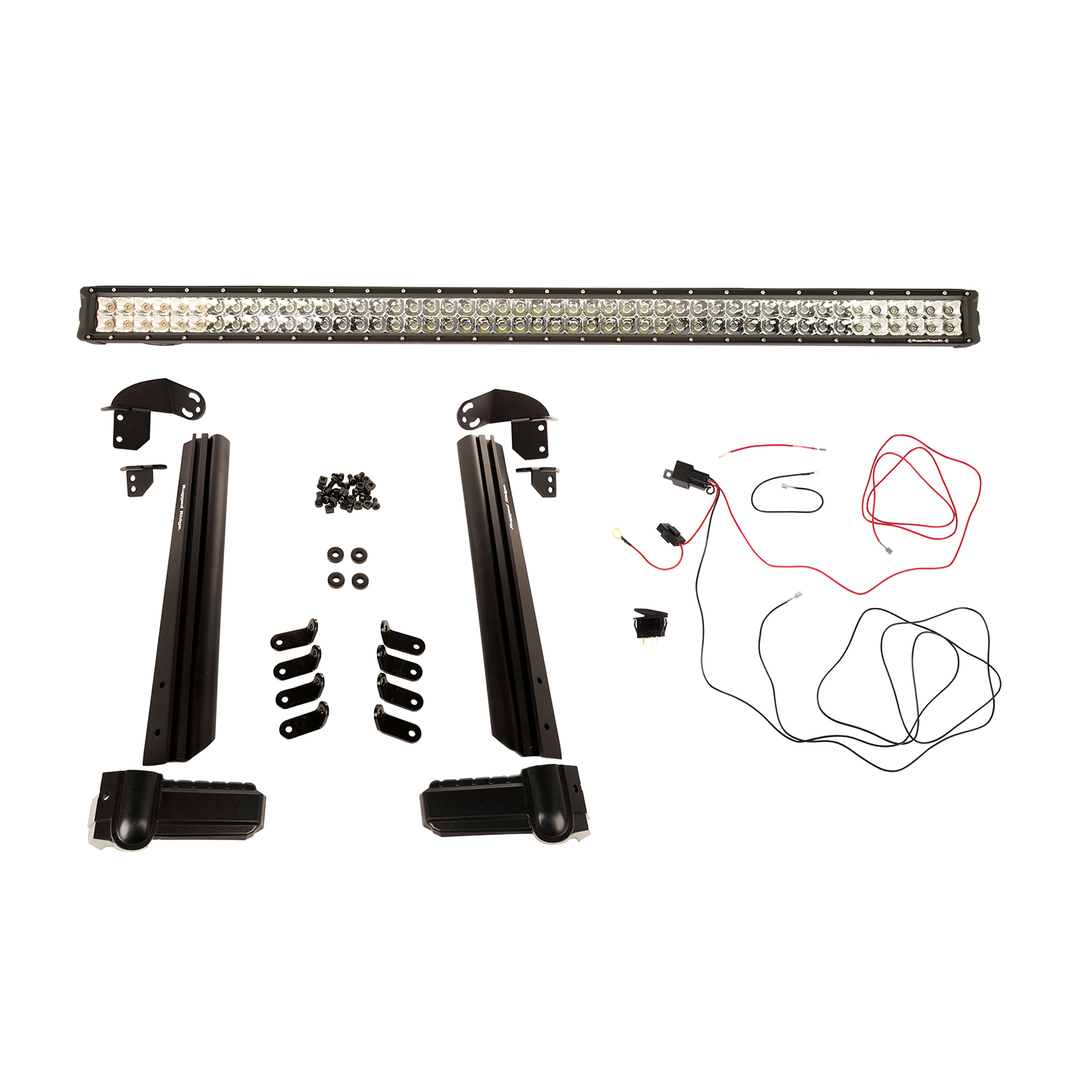 Elite Fast Track Light Bar Kit 50 Inch 07-18 Jeep Wrangler JK