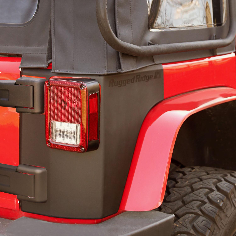 Body Armor Kit Rear Quarter Panels 07 18 Jeep Wrangler Jk 2
