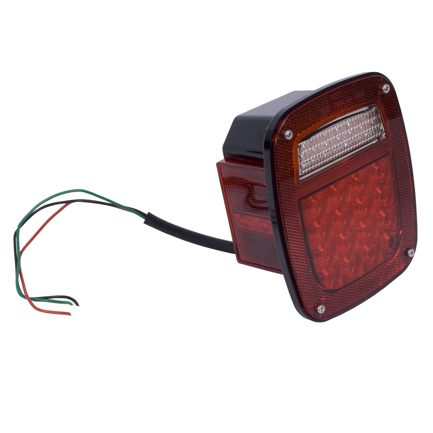 Tail Light Assembly Left LED 76-06 Jeep CJ/Wrangler YJ/TJ