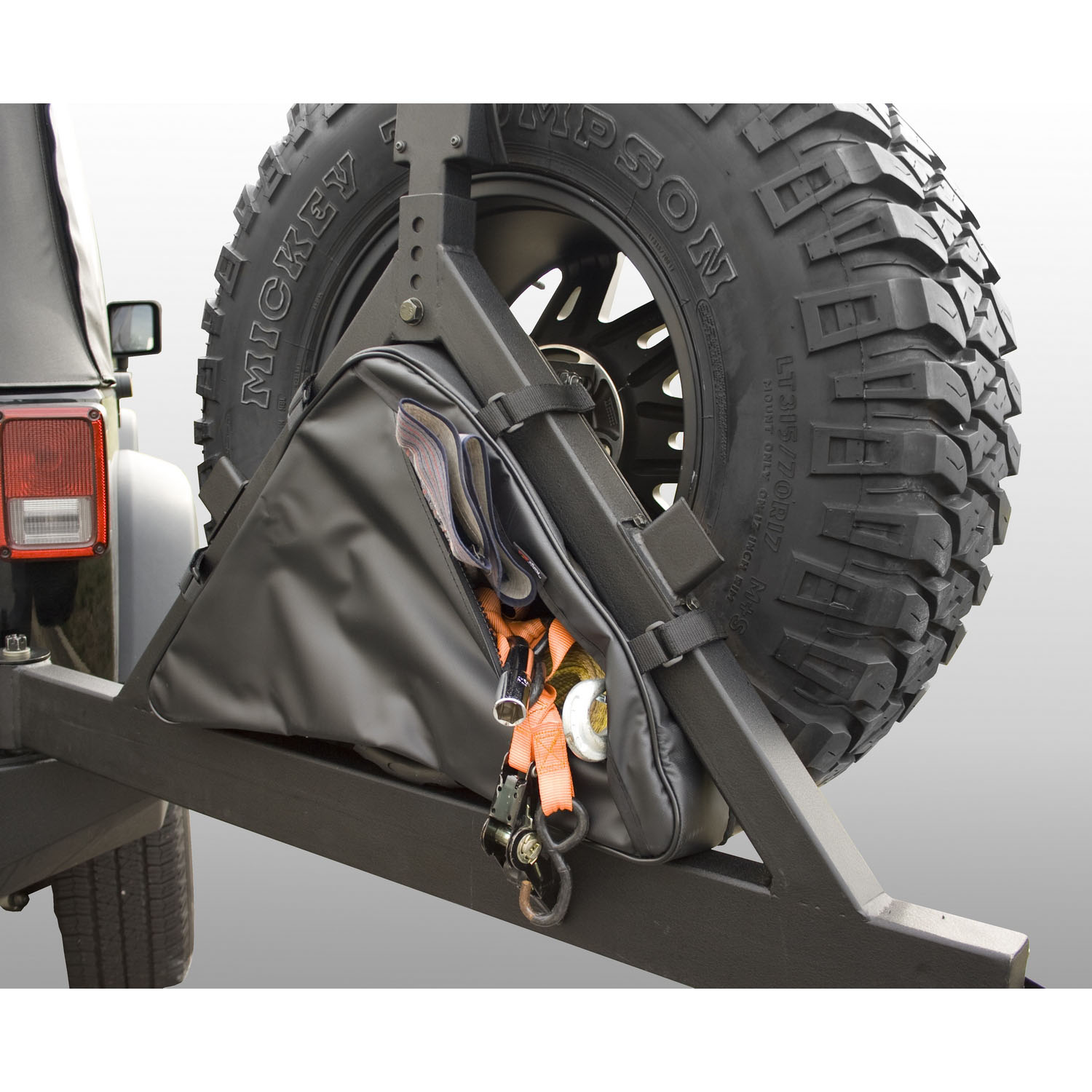 Triangular Storage Bag for Rugged Ridge Tire Carriers