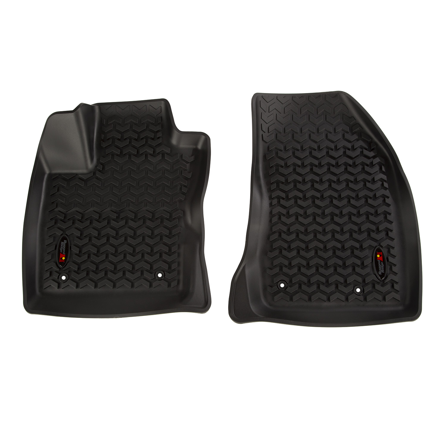 Floor Liner Front Black 2018-2019 Jeep Compass