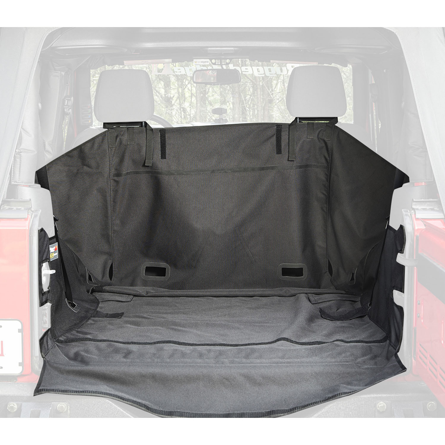 C3 Cargo Cover No Subwoofer 07-18 Jeep Wrangler JK 2 Door Get FREE C3 tailgate Cover (13260.09) with JK C3 Cargo Cover