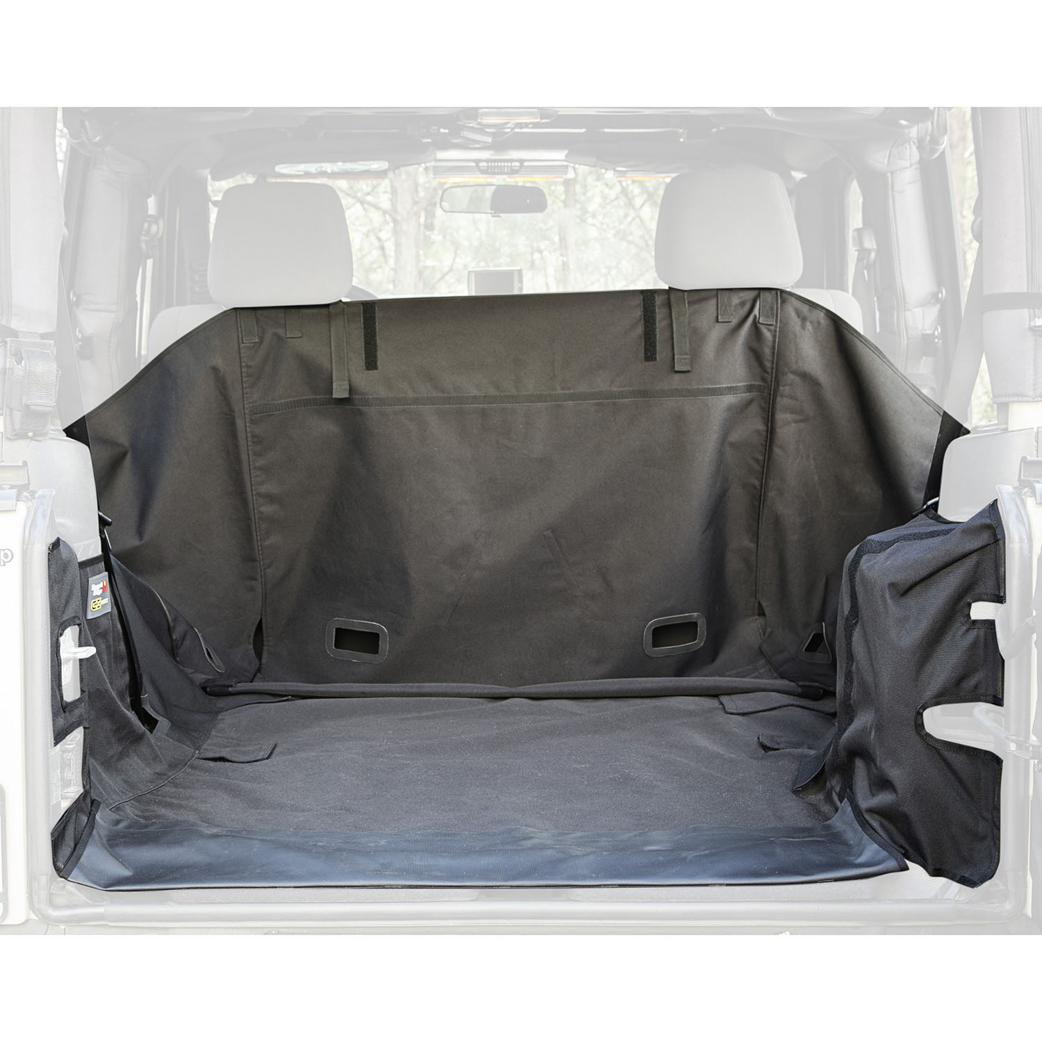 C3 Cargo Cover Subwoofer 07-14 Jeep Wrangler JK 2 Door Get FREE C3 tailgate Cover (13260.09) with JK C3 Cargo Cover