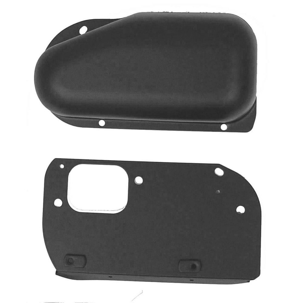 Windshield Wiper Motor Cover  Black  76 Cj7  Cj8