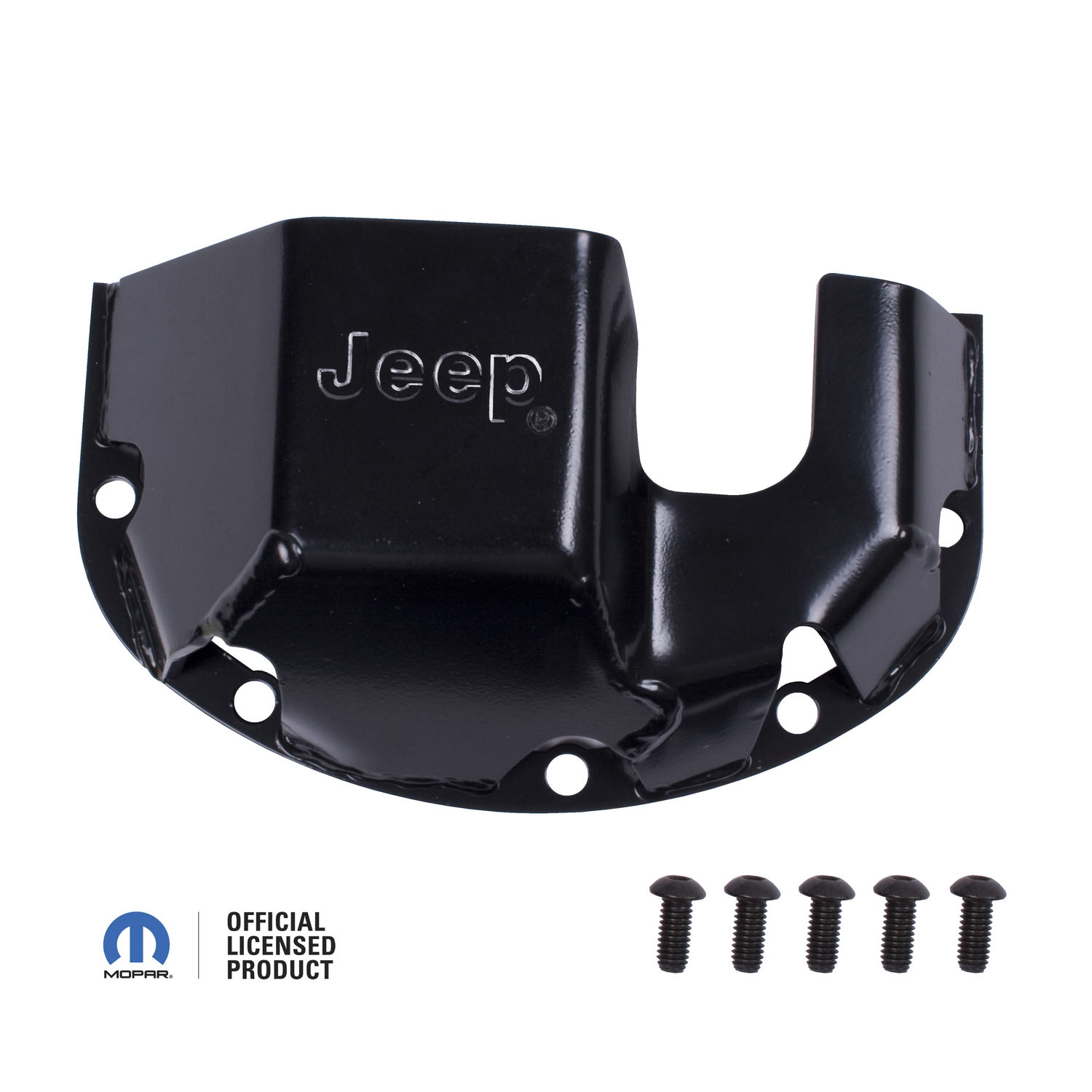 Skid Plate Differential Jeep logo for Dana 30