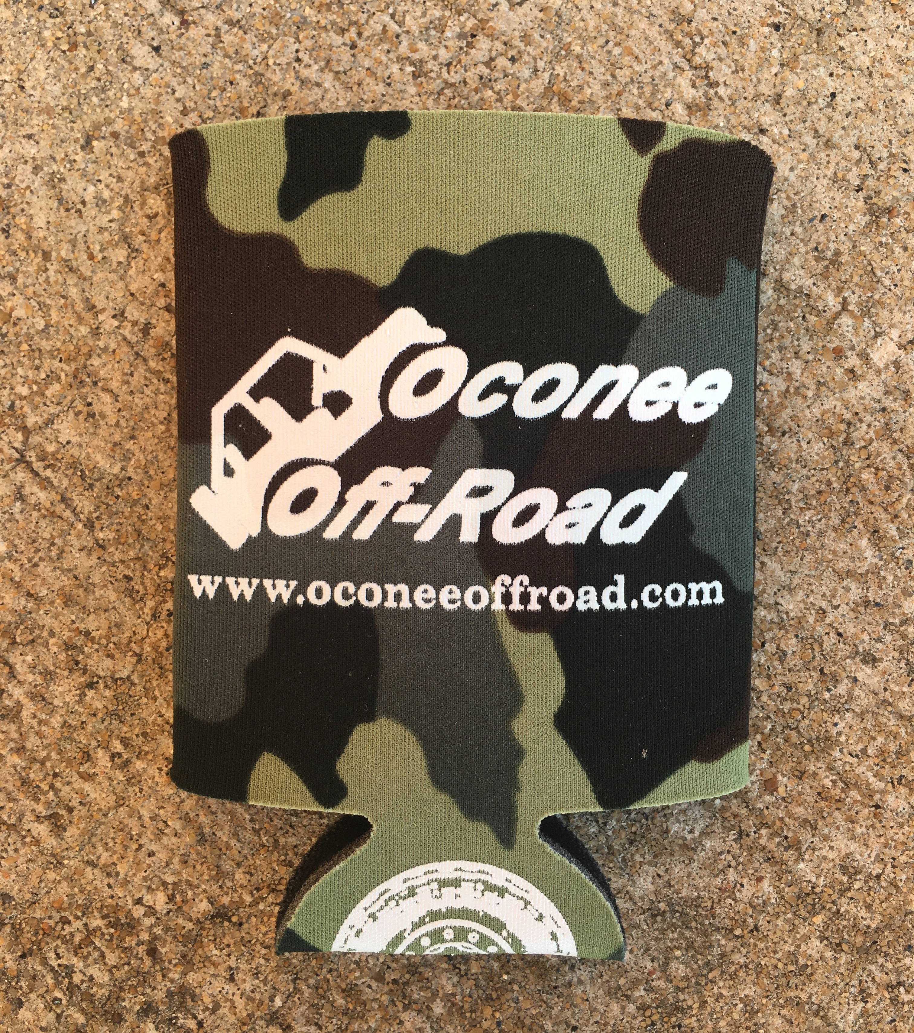 Oconee Off-Road Koozie in Camo