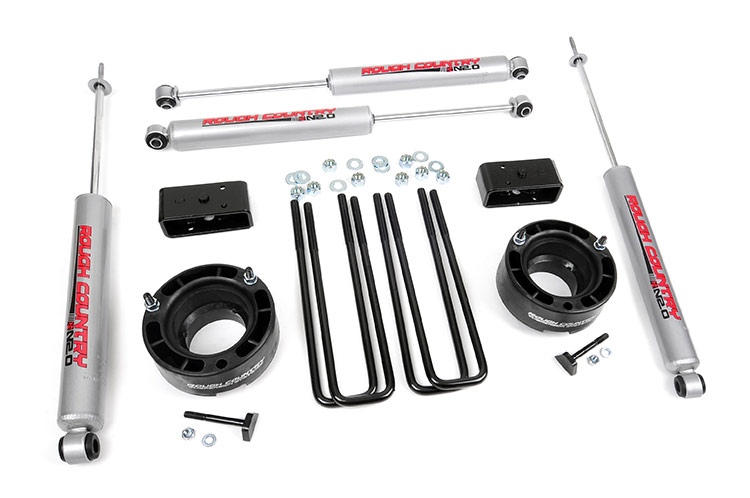 2.5-inch Suspension Leveling Lift Kit<br>Fits: Dodge: 94-01 Ram 1500 4WD