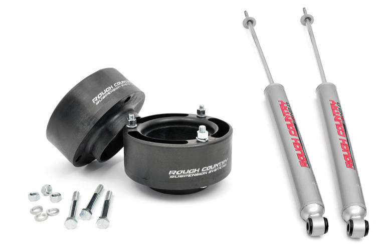 2.5-inch Suspension Leveling Kit<br>Fits: Dodge: 94-10 Ram 2500 4WD; Ram: 11-13 2500 4WD