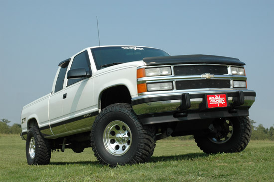 4-inch Suspension Lift Kit Fits: Chevrolet: 88-98 1500 Pickup 4WD 92-99  1500 Suburban 4WD 92-94 Blazer 4WD 95-99 Tahoe 4WD